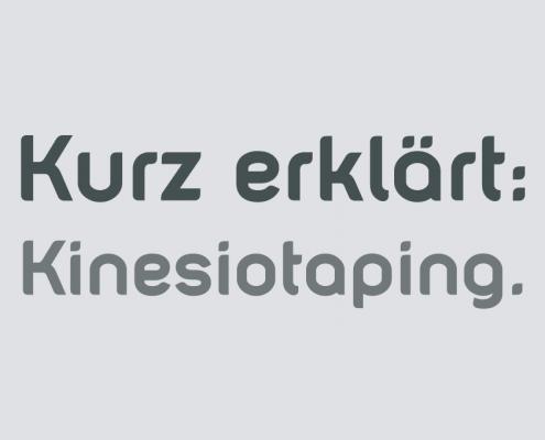 Kinesiotape Behandlung Arzt Saarbrücken