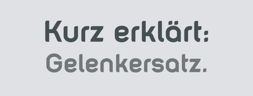 Knieprothese, Hüftprothese Saarbrücken