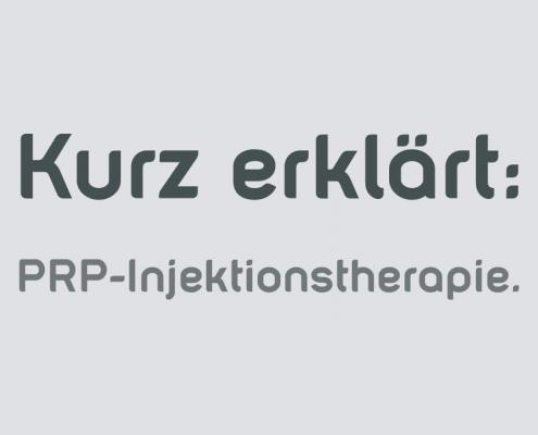 PRP Injektionstherapie in Saarbrücken