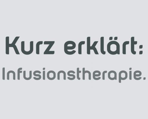 Infusion zur Schmerzlinderung Saarbrücken